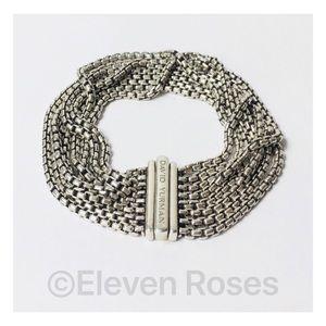 David Yurman Multi Row Box Chain Bracelet